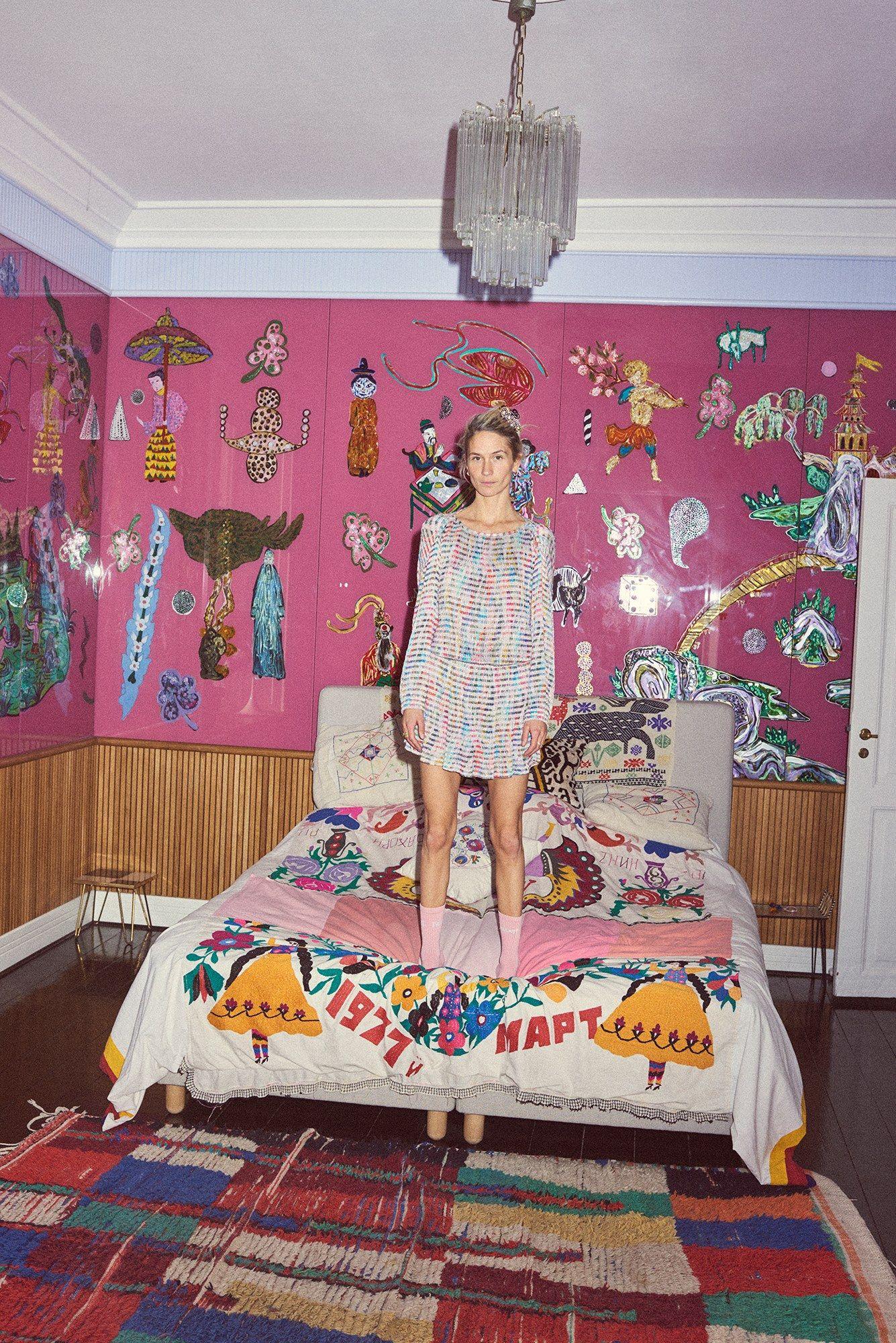 Home interior colour combination emma leth home  interior design  pinterest  handmade bed linen