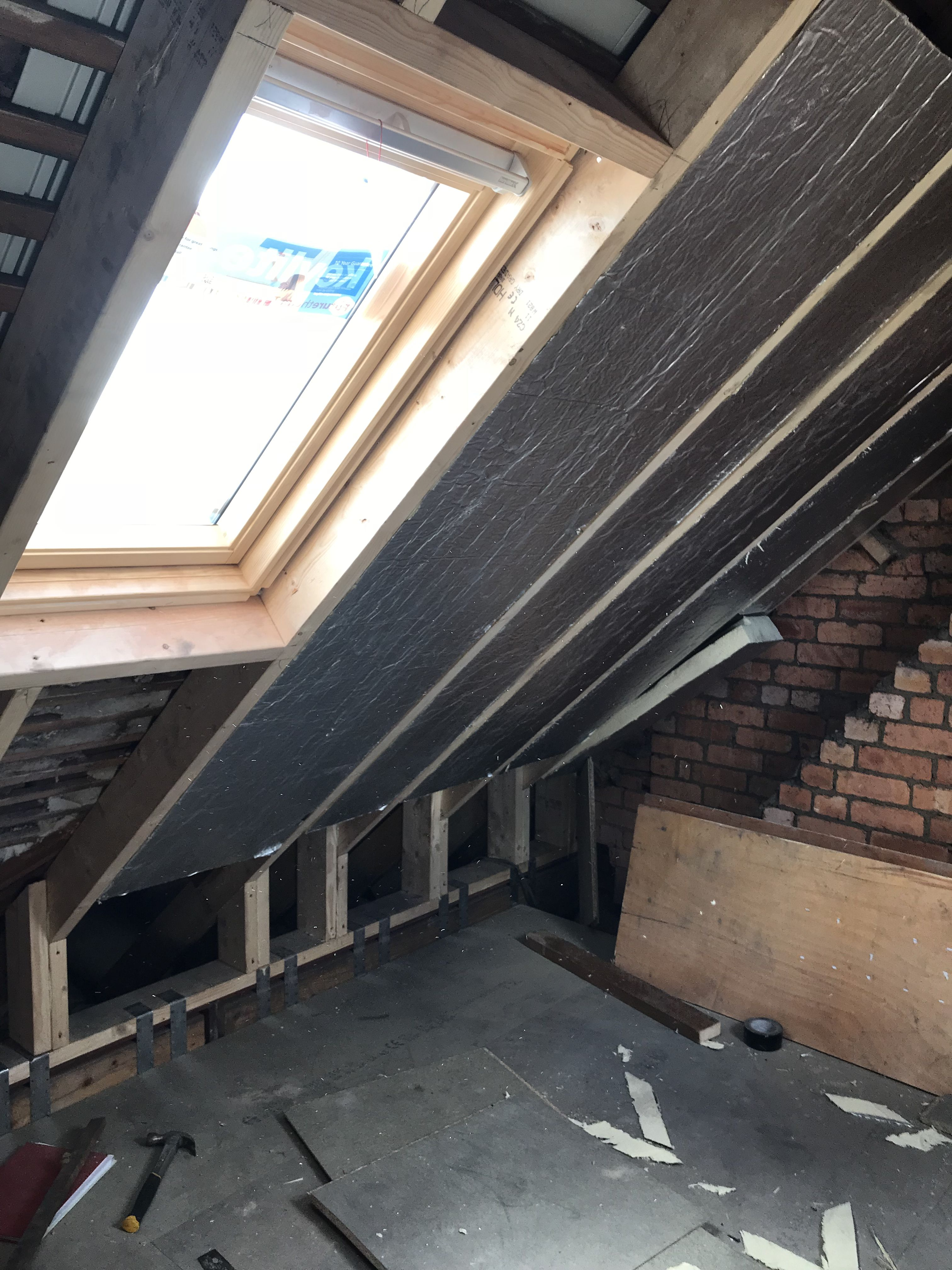 Pin By Mike On Attic Framing Construction Attic Bedroom Small Loft Conversion