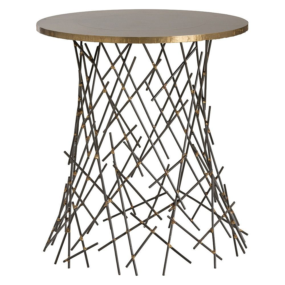 Grazia Side Table Arteriors Home Works In Both Traditional And