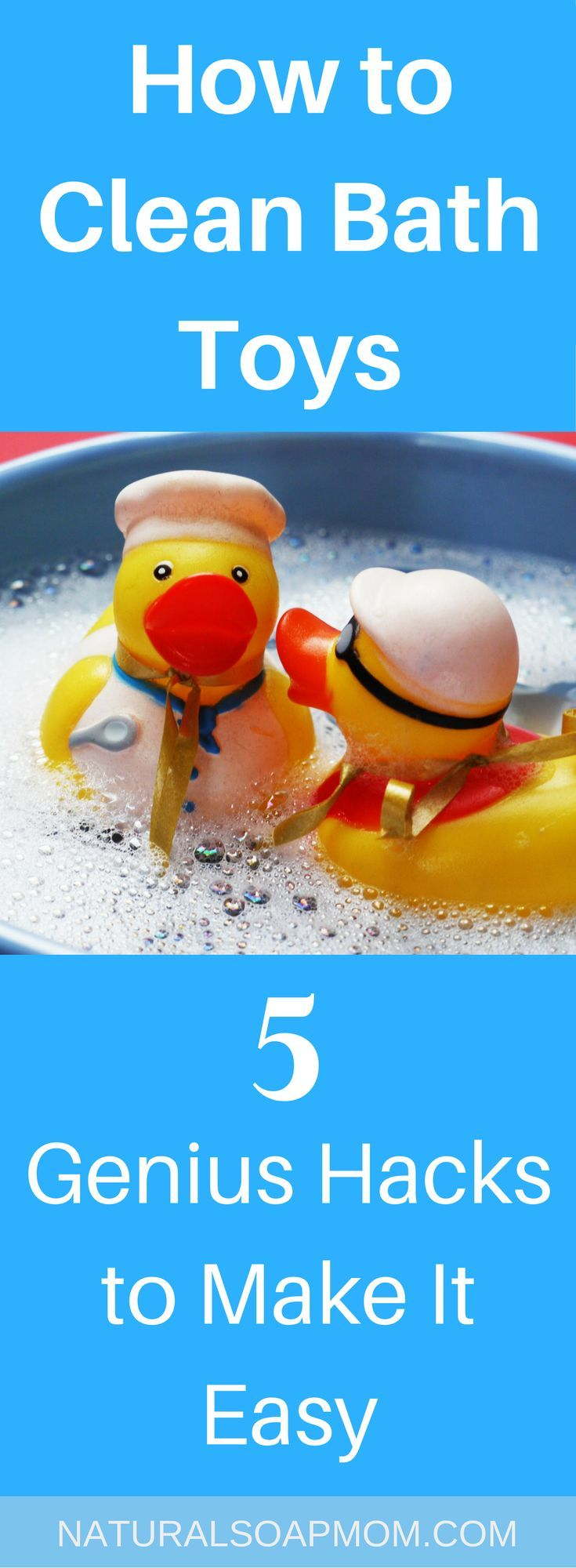 How To Clean Bath Toys   5 Genius Hacks To Make It Easy
