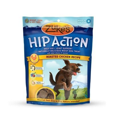 DOG TREATS - ALL OTHER - HIP ACTION DOG CHICKEN USA - 6 OZ