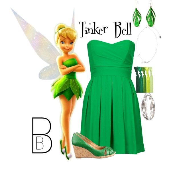 """""""Tinker Bell"""" by bethanybrooks on Polyvore"""