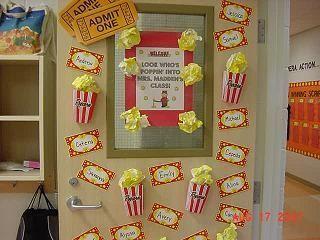 Hollywood Classroom Theme Classroom Decorating Ideas 3 D Bulletin