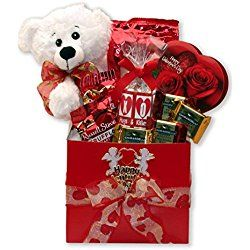 Big Kisses For You Valentine S Day Gift Basket Valentine S Day