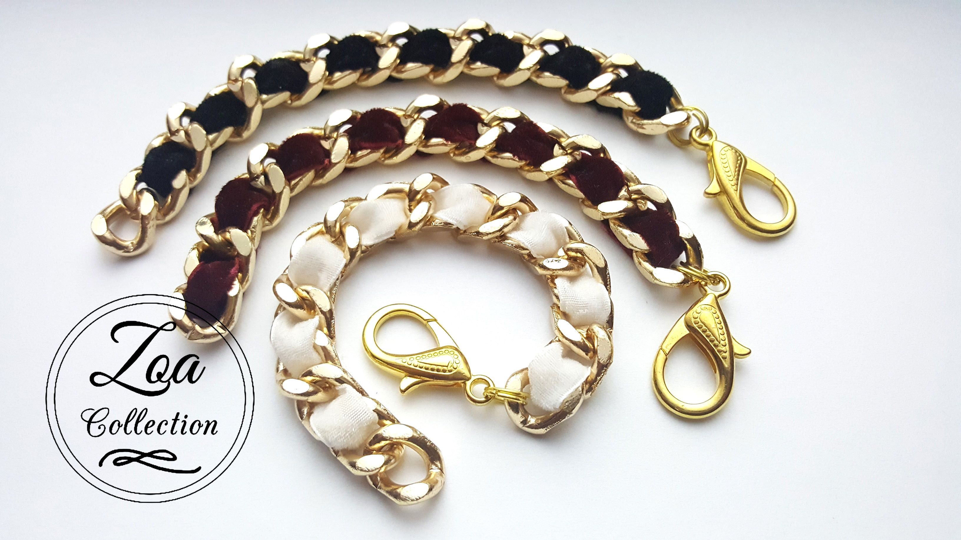 beaded gold large store bracelet