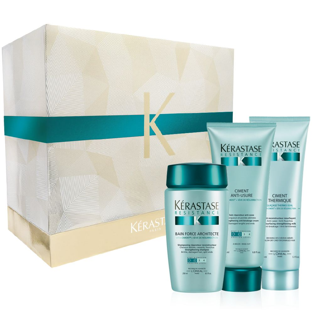 For ultimate restoration...give Kerastase Resistance Gift Set