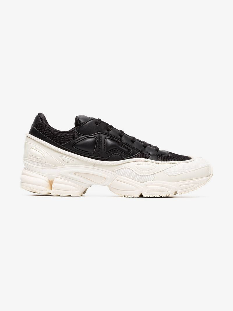 ADIDAS BY RAF SIMONS SCARPE SNEAKERS UOMO IN PELLE NUOVE