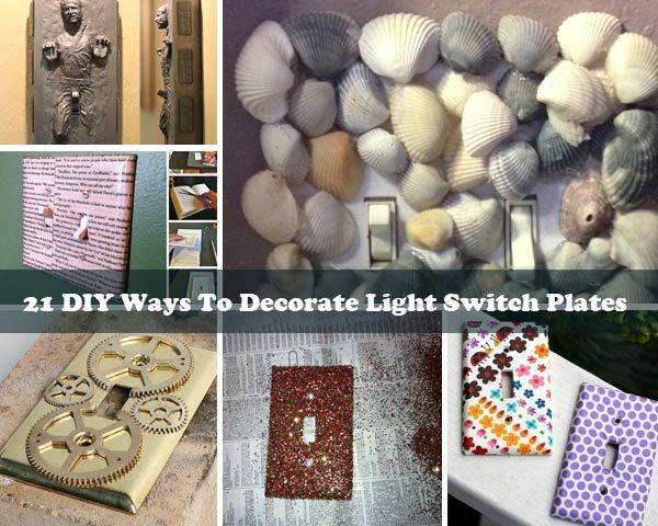 Decorative Switch Plates Are A Creative Way To Bring The Perfect