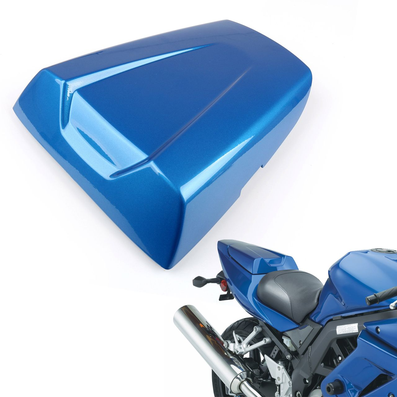 hight resolution of mad hornets rear passenger seat cover cowl suzuki sv650 sv1000 2003 2010 2004 2005