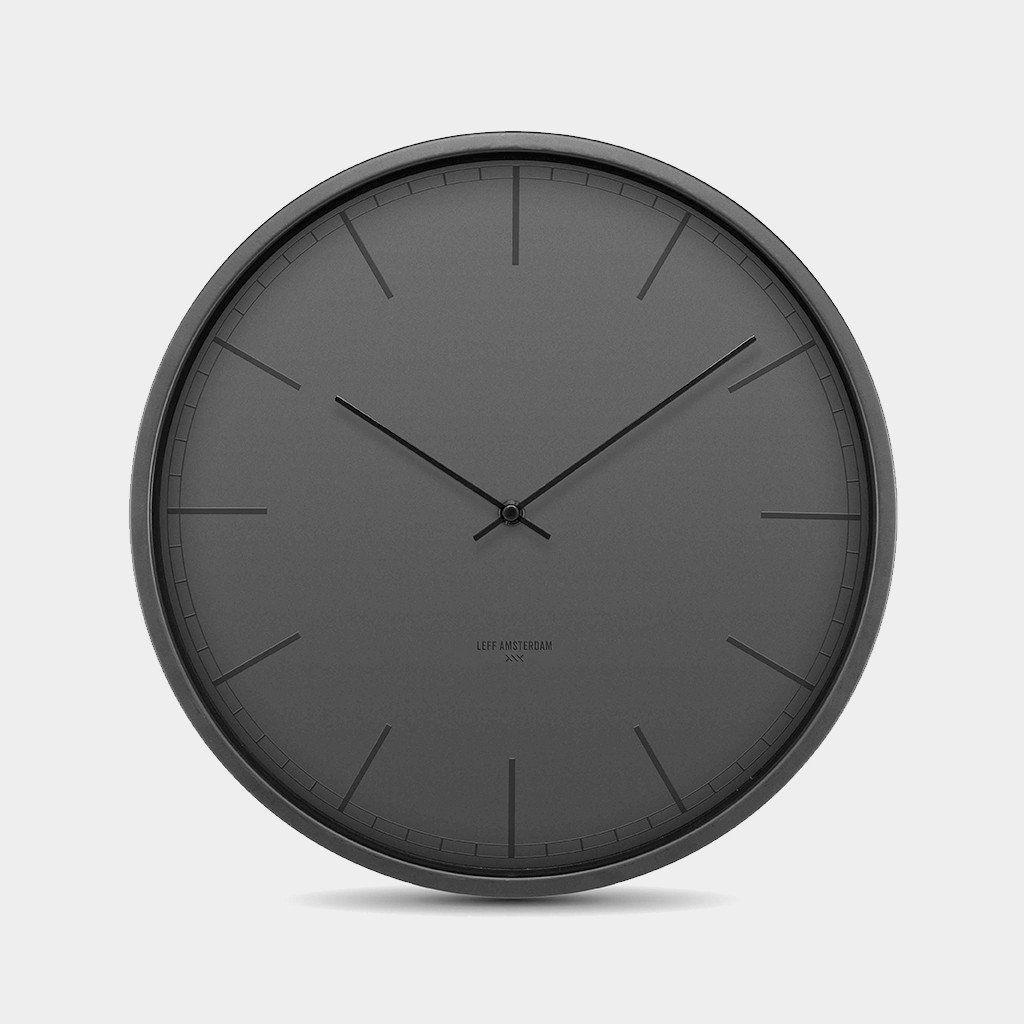 All Black Wall Clock Men Home Decor Black Wall Clock Clock