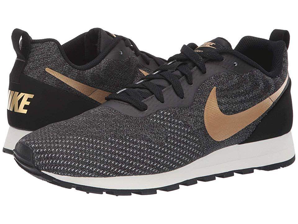 Nike MD Runner 2 Eng Mesh (BlackMetallic GoldCool Grey