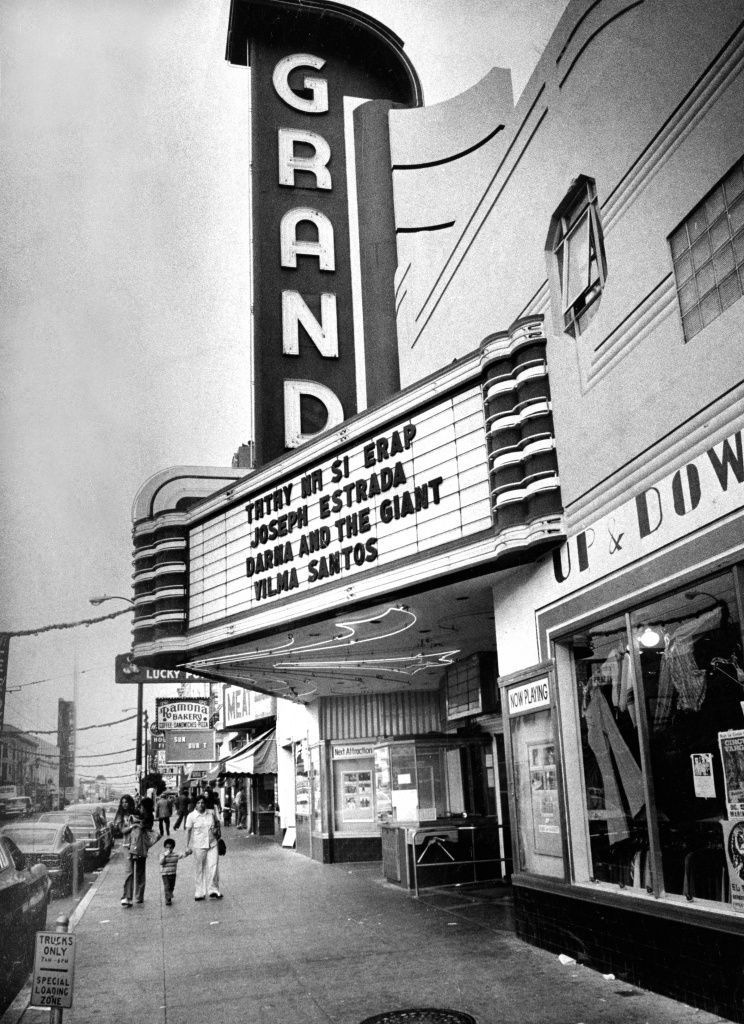 Vanishingsf Documents Effects Of Hyper Gentrification In This Moment Movie Theater Movies