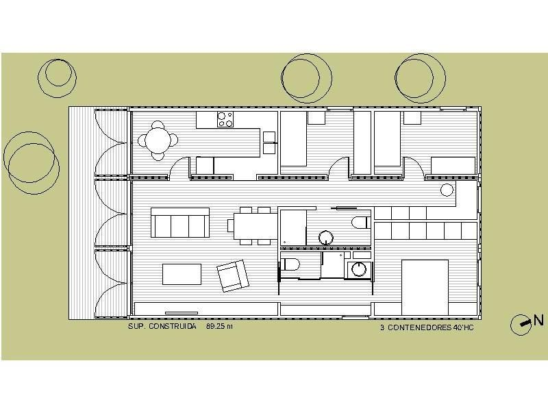 Contenedore medidas buscar con google planos casas - Casas de contenedores maritimos ...
