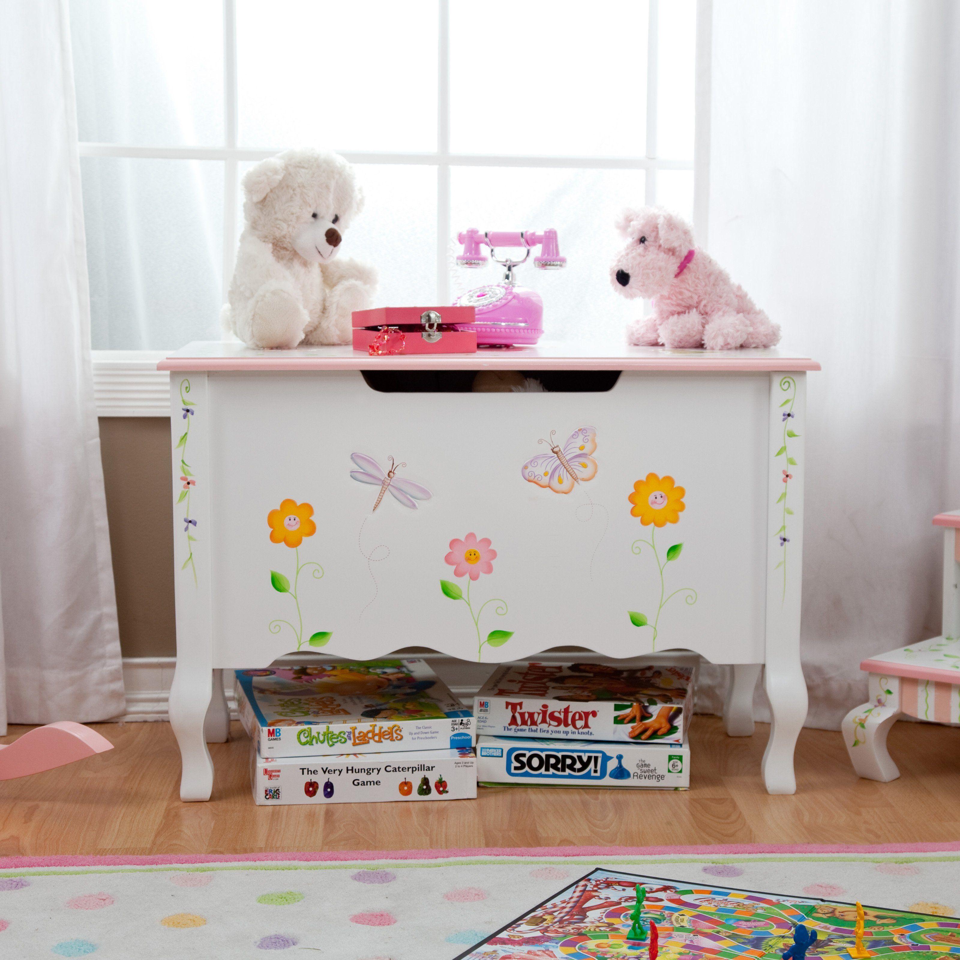 Fantasy Fields Princess & Frog Toy Chest  W 7462A