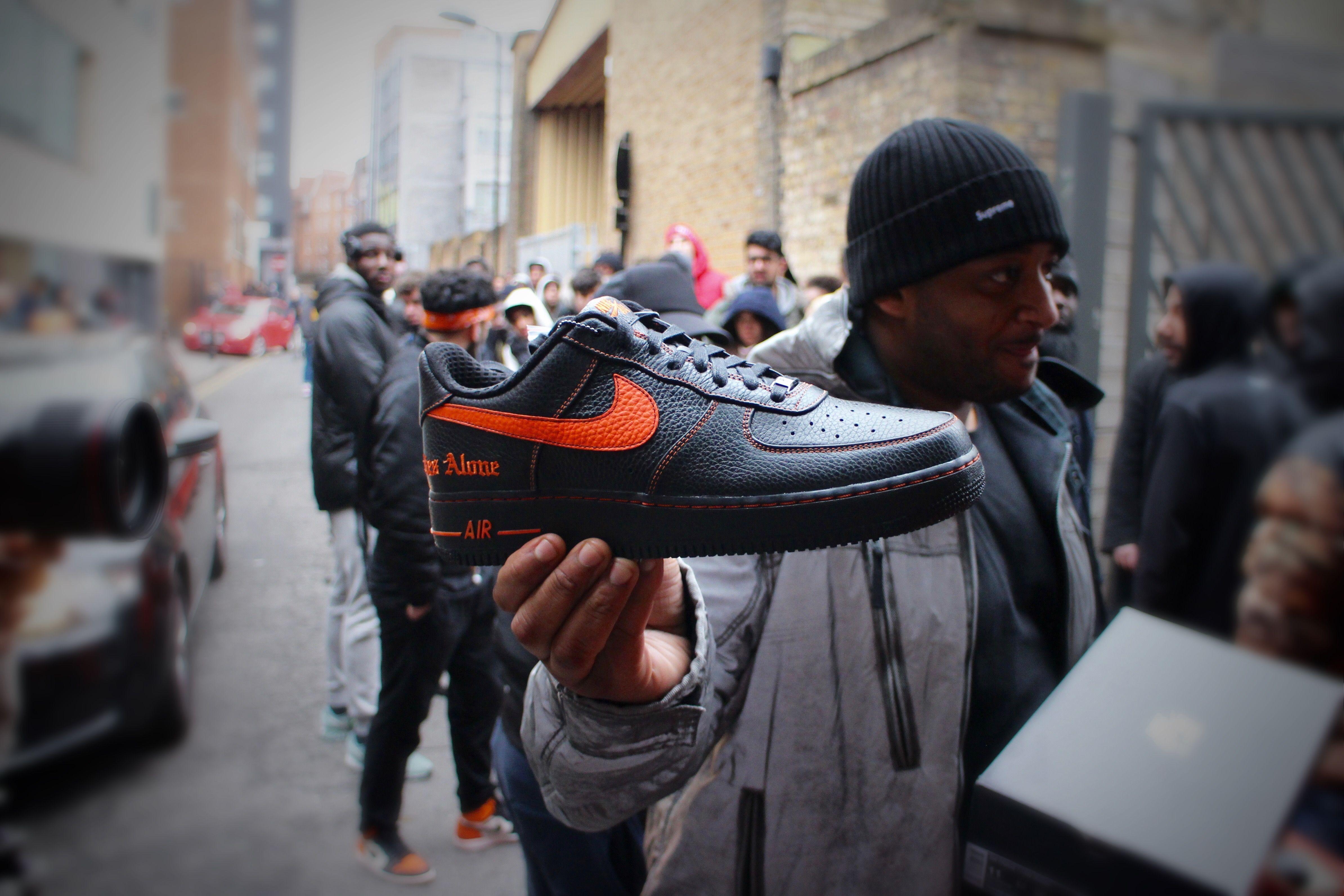 VLONE x Nike Air Force 1 London Drop Release Recap