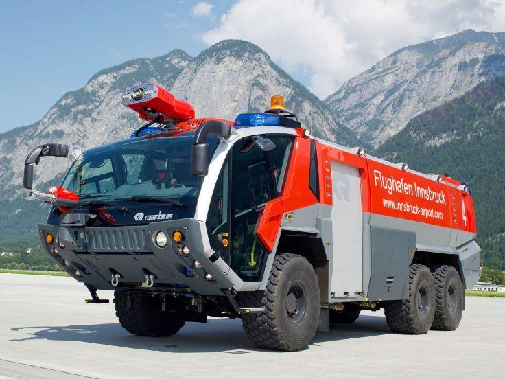 Rosenbauer Panther 6x6 Feuerwehr