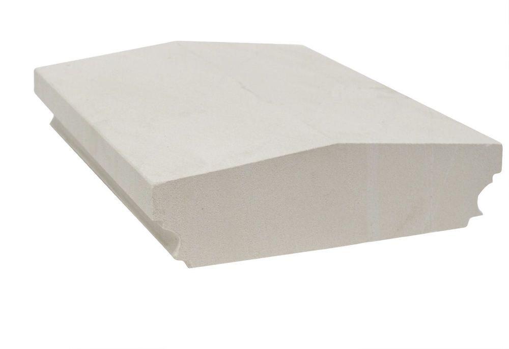 Mauer Abdeckung Profil 60x35x10 Cm Sandstein Grau Naturstein