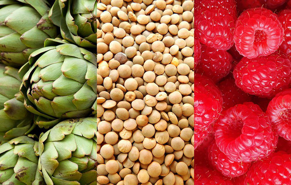 food with fiber in them