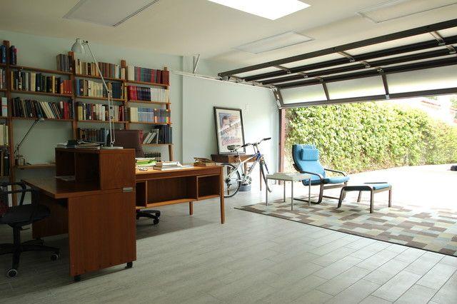garage office messy paso mi tiempo en garaje al fin de semana papa pase su oficina