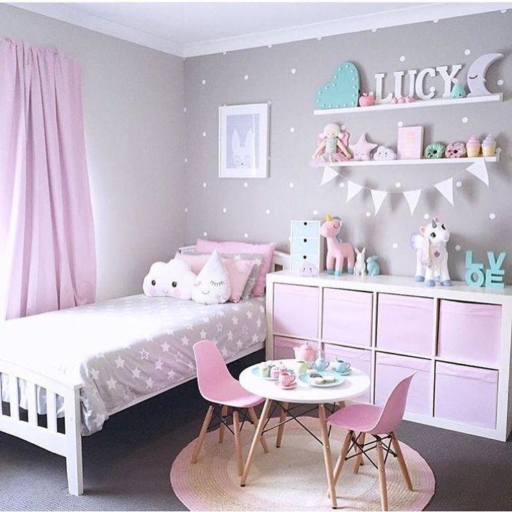 Classic Pink And Gray Decoracao De Quarto Decoracao Quarto Menina Decoracao Quarto Infantil