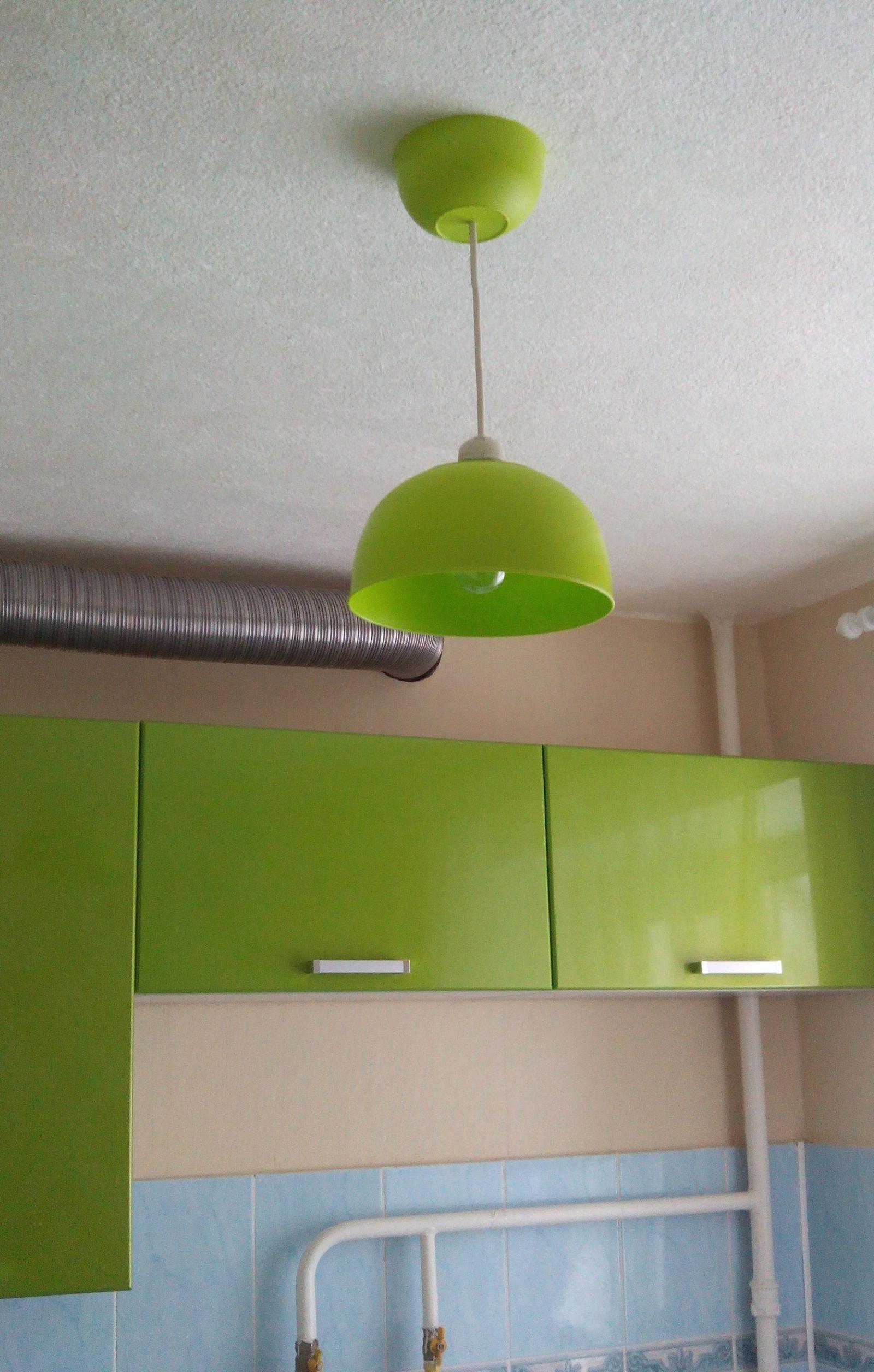 Лампа в кухню своими руками