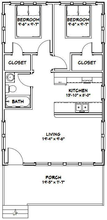 Kitchen Floor Plans 10x10