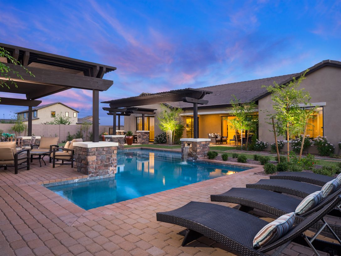 Toll brothers america 39 s luxury home builder outdoor for Pool builders queen creek az