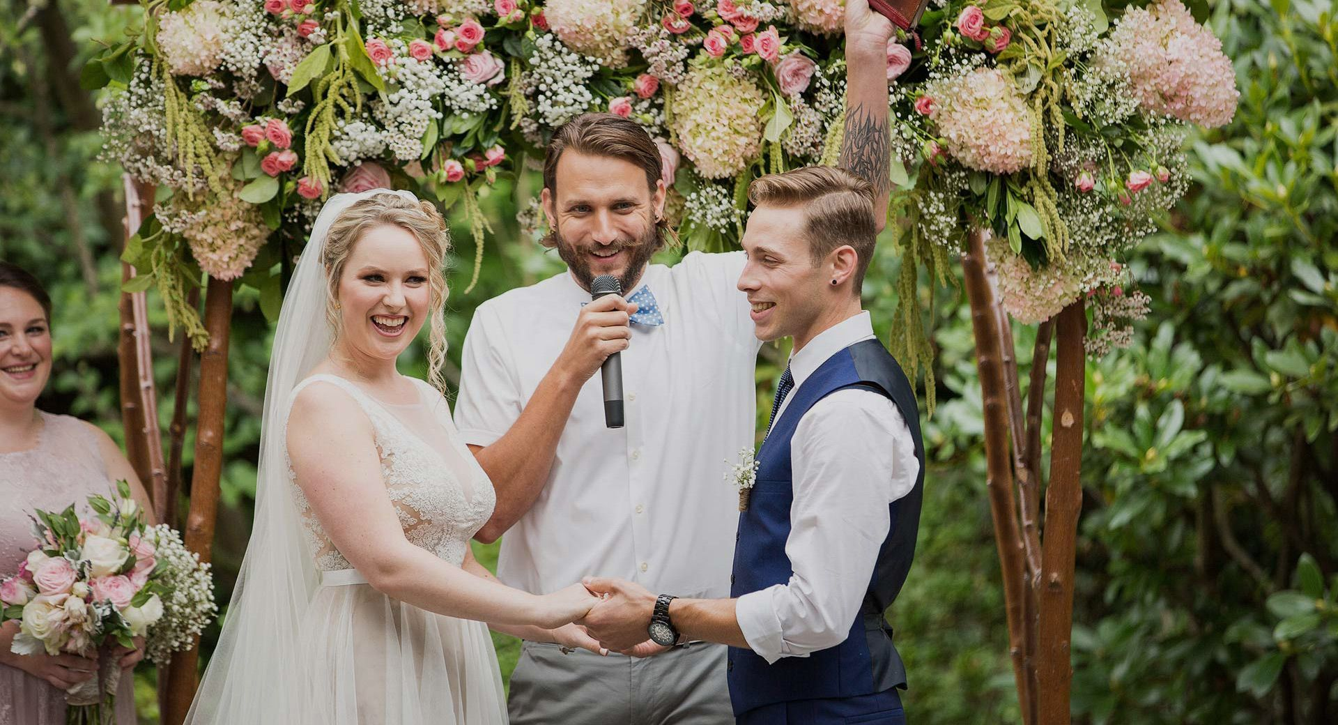 Officiants Young Hip Married Wedding Officiant Wedding Secular Wedding