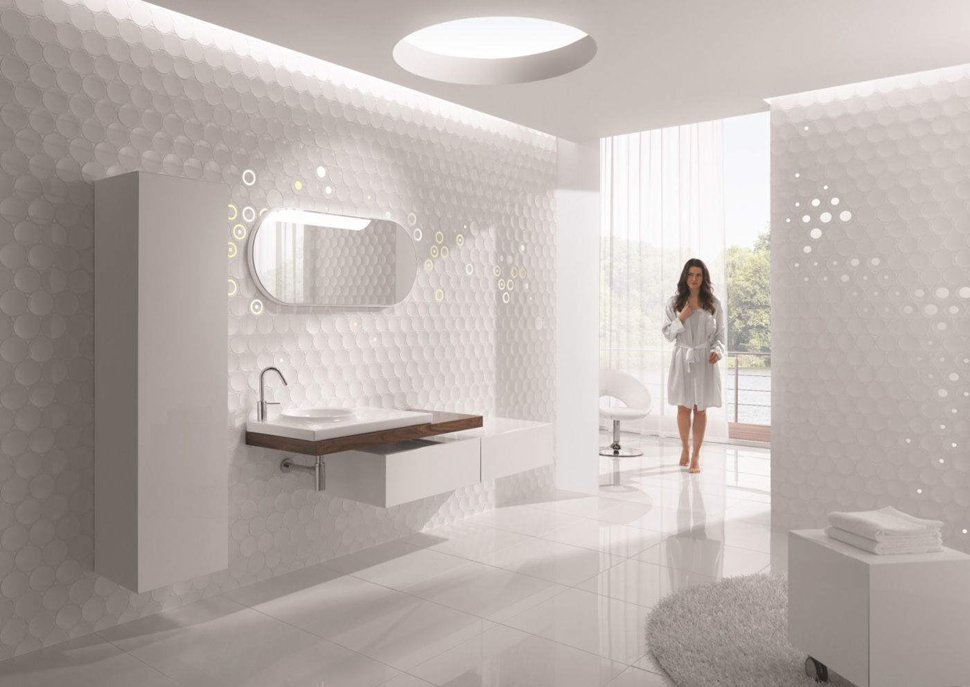 White Bathroom Design Ideas Adorable Small Bathroom Design White Enchanting Bathroom Tile Ideas And Design Decoration