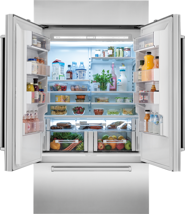 Sub Zero 42 Classic French Door Refrigerator Freezer Panel Ready Bi 42ufd O French Door Refrigerator Refrigerator Freezer Built In Refrigerator