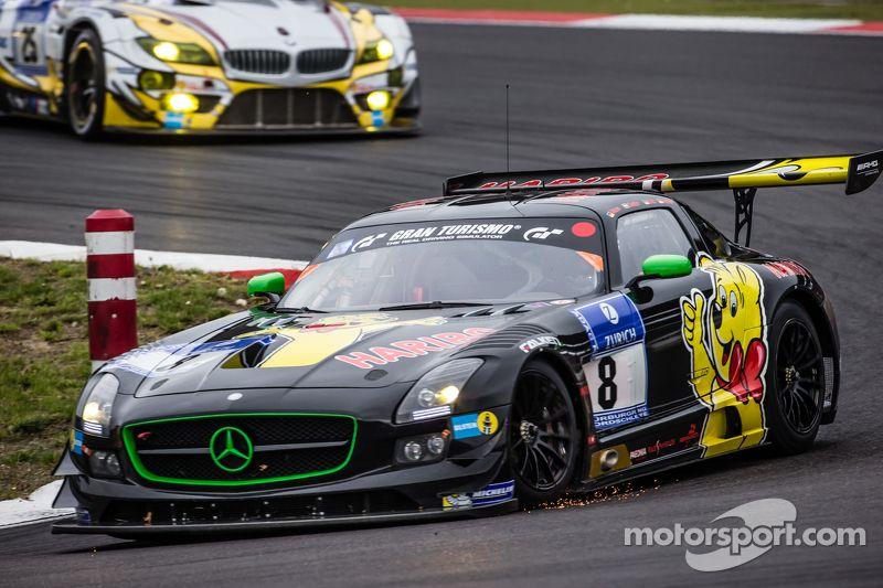 8 Haribo Racing Mercedes Benz Sls Amg Gt3 Uwe Alzen Marco Holzer