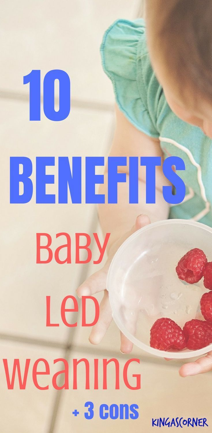 10 Benefits of Baby Led Weaning | Baby led weaning, Baby ...