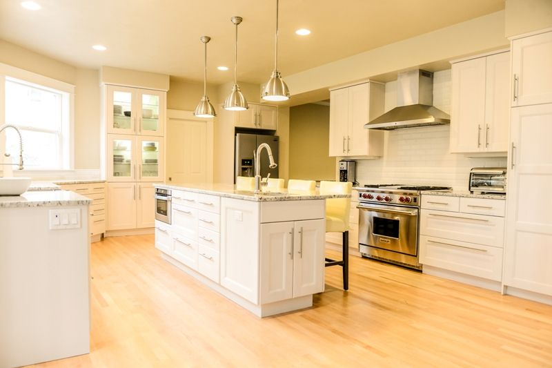 White Kitchen Maple Floors white kitchen maple floors naturalappalachian hardwood with