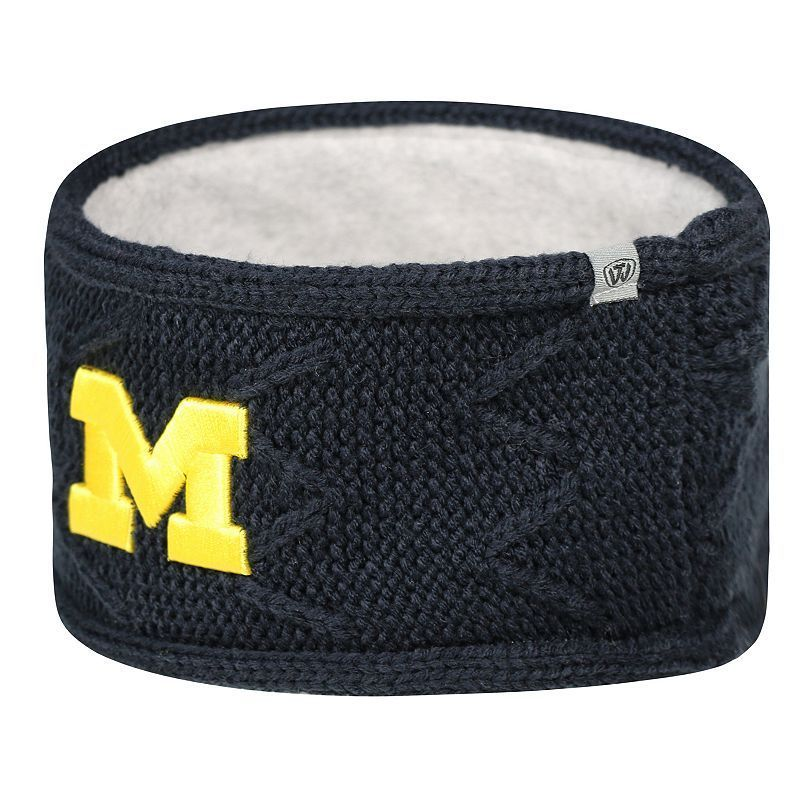Adult Top of the World Michigan Wolverines Ziggy Knit Headband, Ovrfl Oth