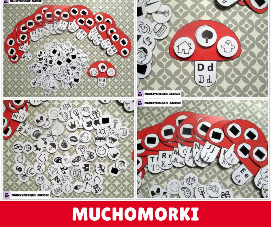 Muchomorki Co Zaczyna Sie Na Zestaw Samodzielny 7643867631 Oficjalne Archiwum Allegro Crafts Kids Rugs Kids
