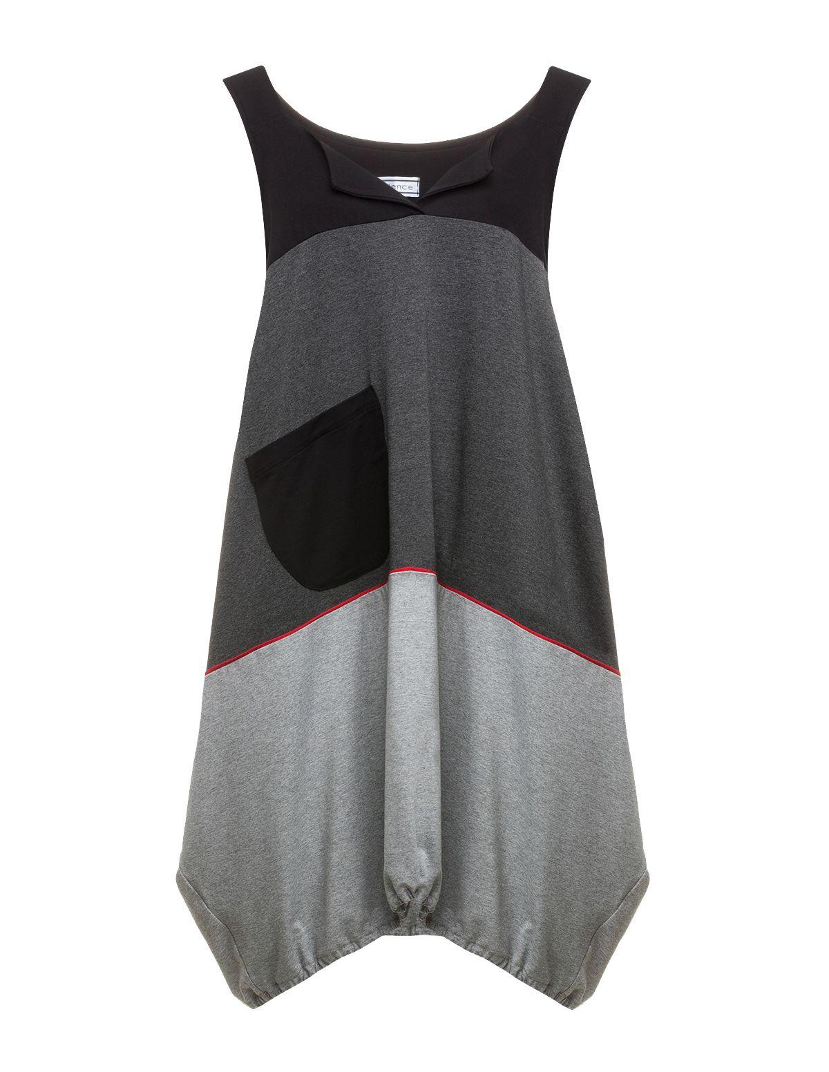 7fd57942d7a3 add sleeves TURBULENCE - Elastic-waistband shift dress - navabi ...