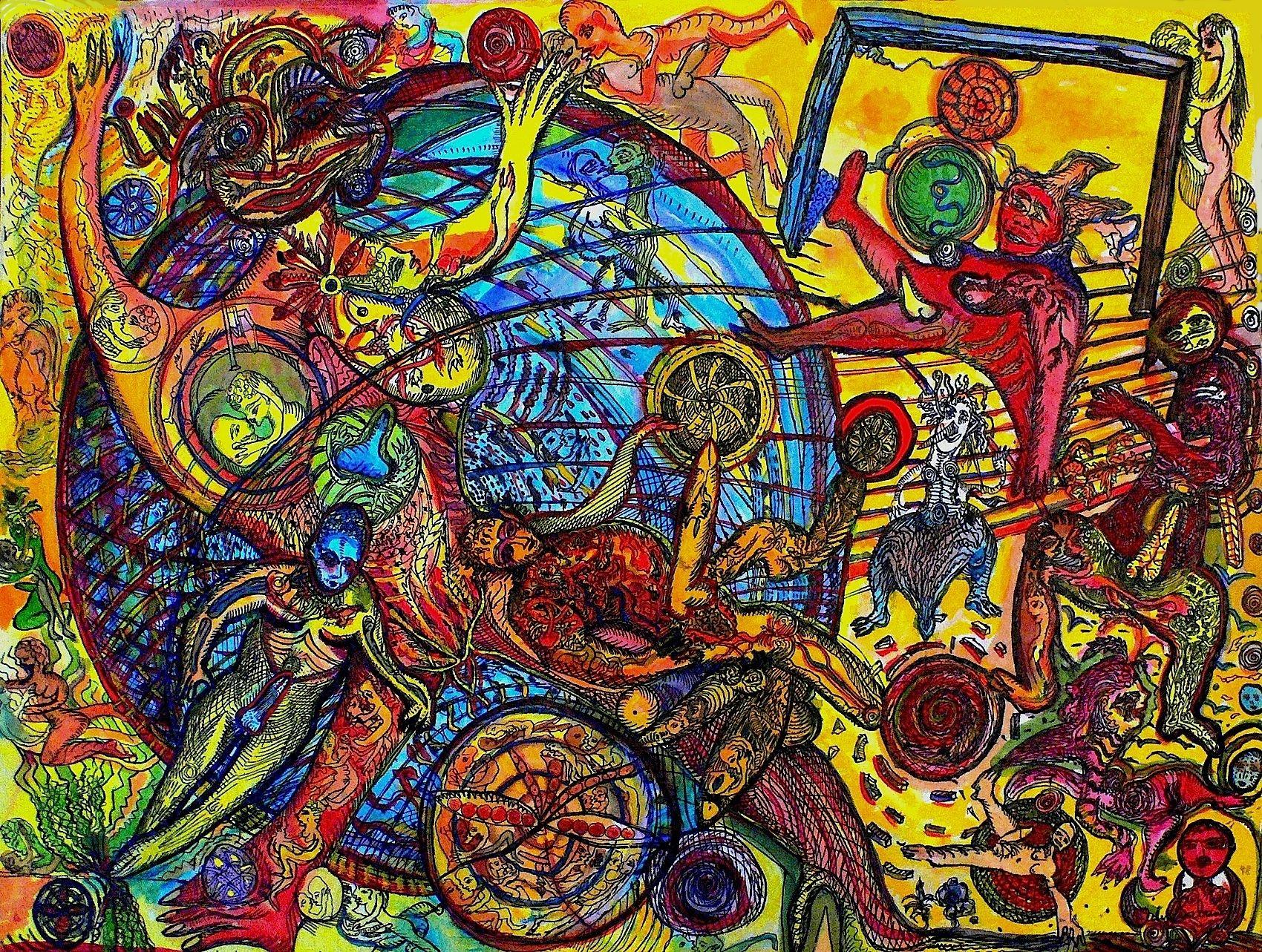 Outsider Art Outsider Art Art Brut Art Singulier Self Taught Andre Robillard Jesse Outsider Art Cobra Art Art Inspiration