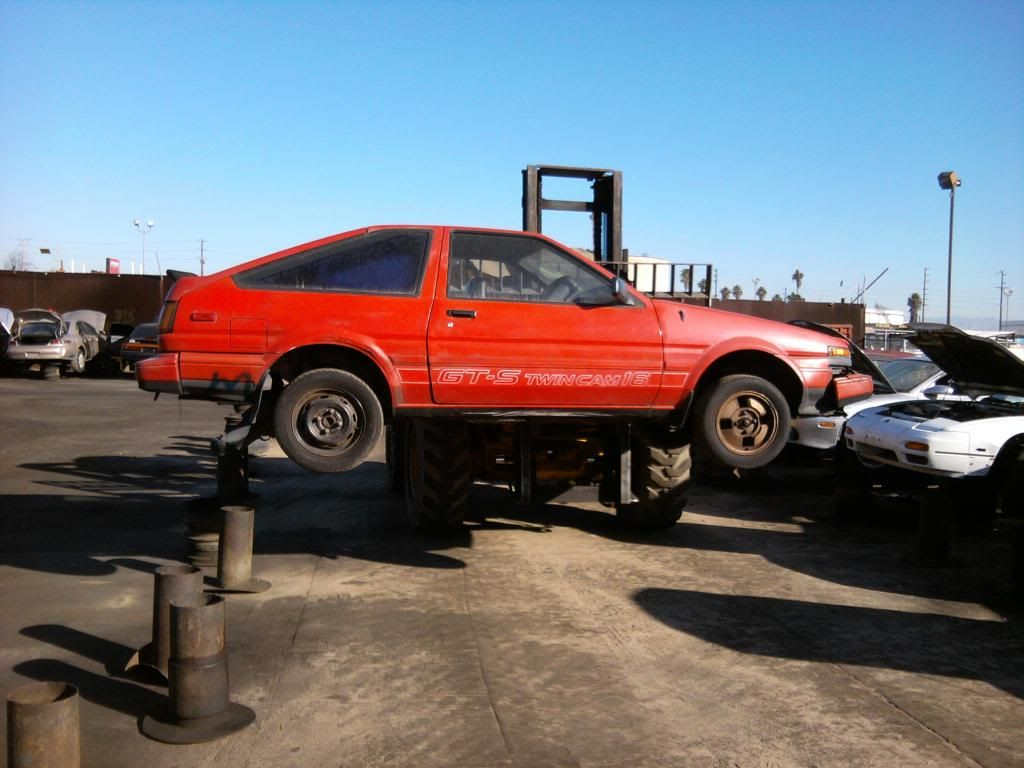 Achievement unlocked: Save an AE86 from the junkyard - Scion FR-S ...