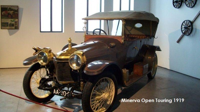 1919, Minerva Open Touring
