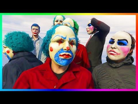 awesome GTA ONLINE HALLOWEEN 2016 DLC CONTENT - KILLER CLOWN ...