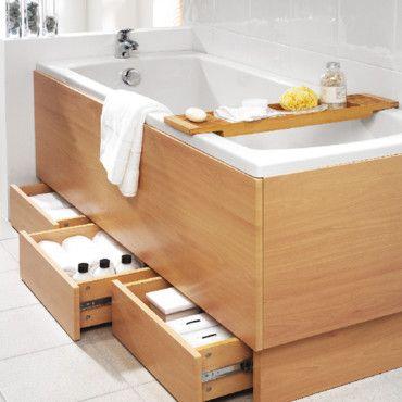 rangement dans coffrage baignoire baignoire recherche. Black Bedroom Furniture Sets. Home Design Ideas