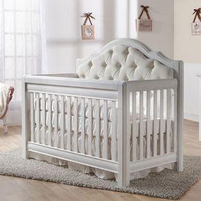 Pali Cristallo Convertible Crib In Vintage White