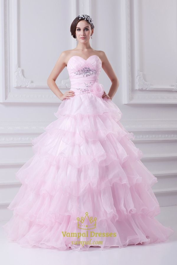 Vampal.com Offers High Quality Light Pink Quinceanera Dresses 2014 ...