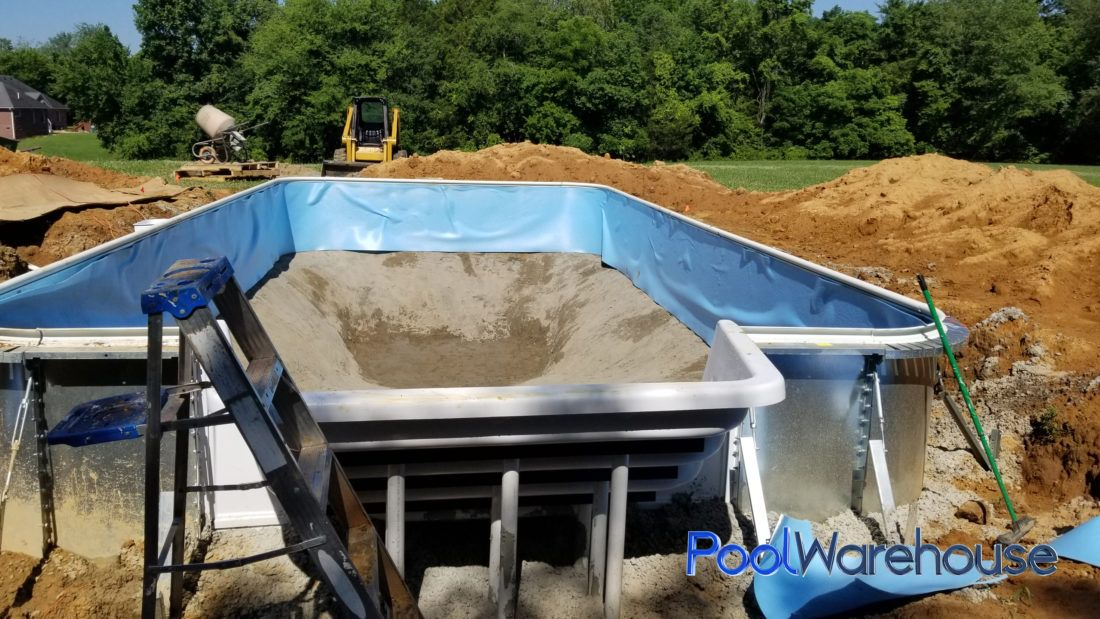 Miller Tennessee Inground Pool Kit Construction Pool Warehouse Pool Kits Pool Inground Pools