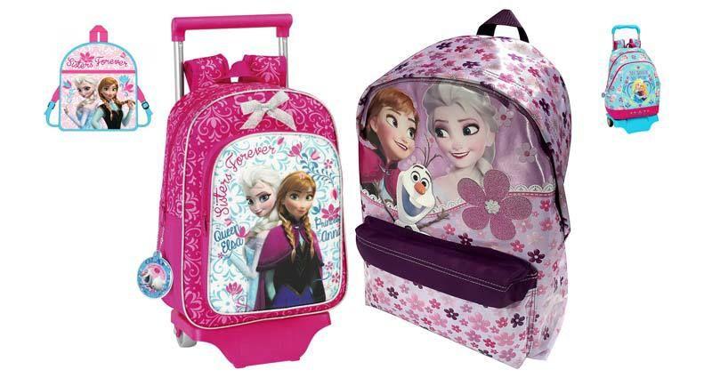 6 mochilas de Frozen para la vuelta al cole