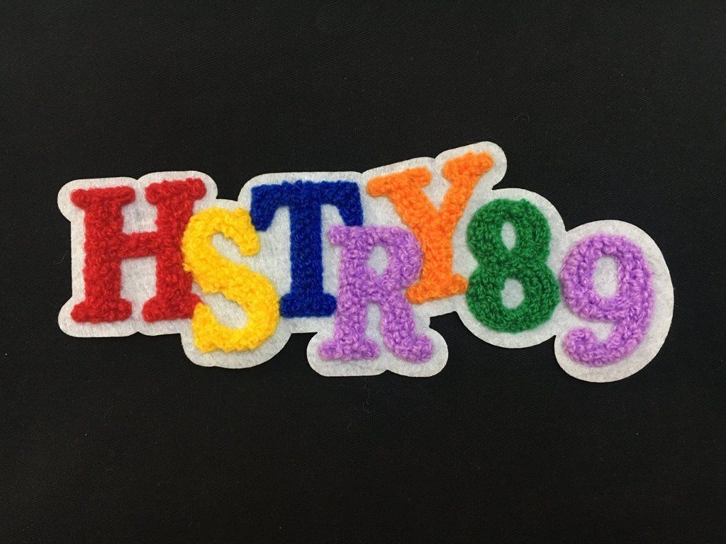 Custom Chenille Patches, Your own brand chenille patches