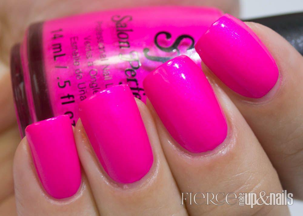 Fierce Makeup and Nails: Salon Perfect Neon POP ...