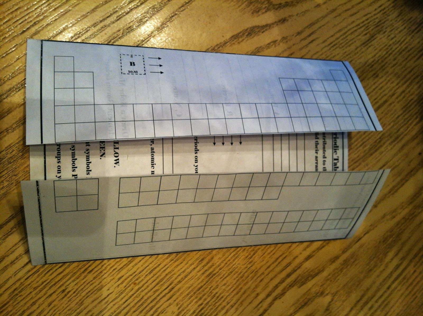 Periodic table foldable science foldables pinterest periodic periodic table foldable biocorpaavc Images