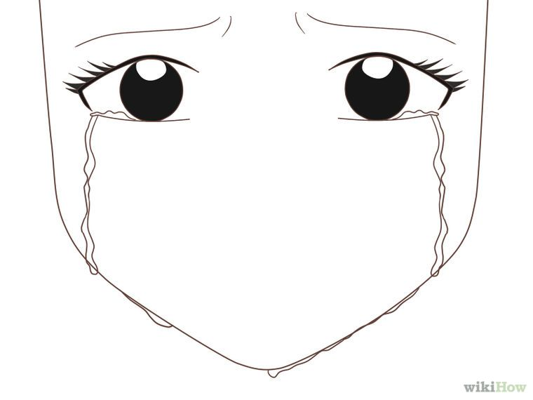 Draw An Anime Eye Crying How To Draw Anime Eyes Anime