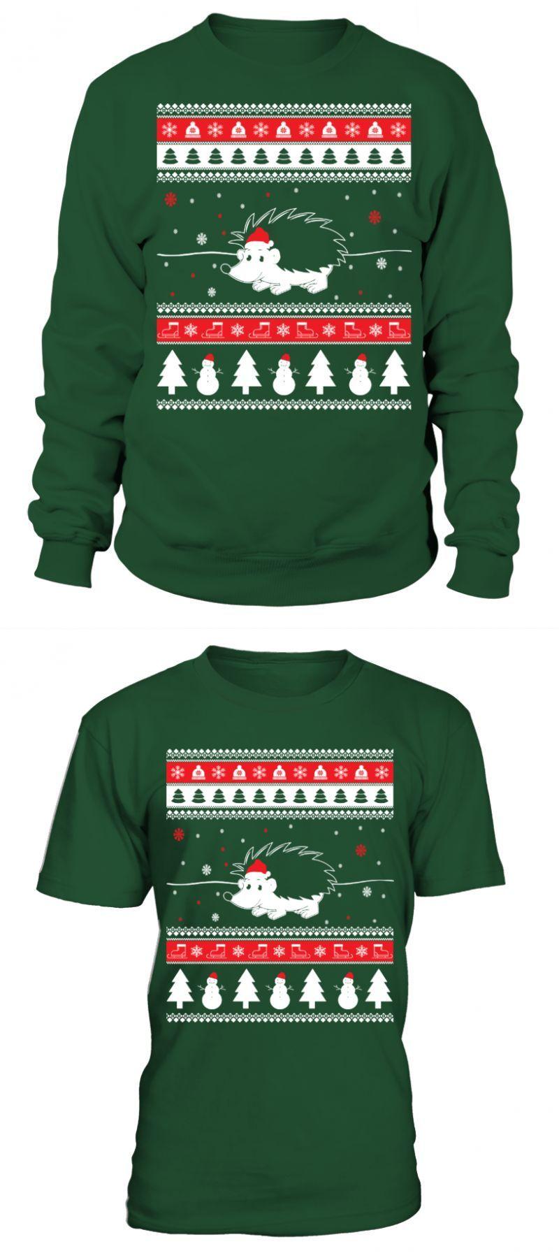 Hedgehog Christmas Sweater.Hedgehog T Shirt Hedgehog Ugly Christmas Sweater Sonic The